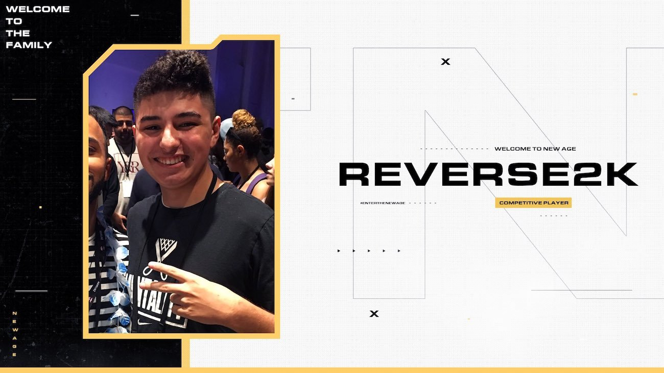 09.12.2020 REVERSE2K JOINS TEAM NEW AGE | FORTNITE ROSTER UPDATE